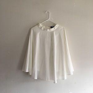 Lulu's White Midi Skirt